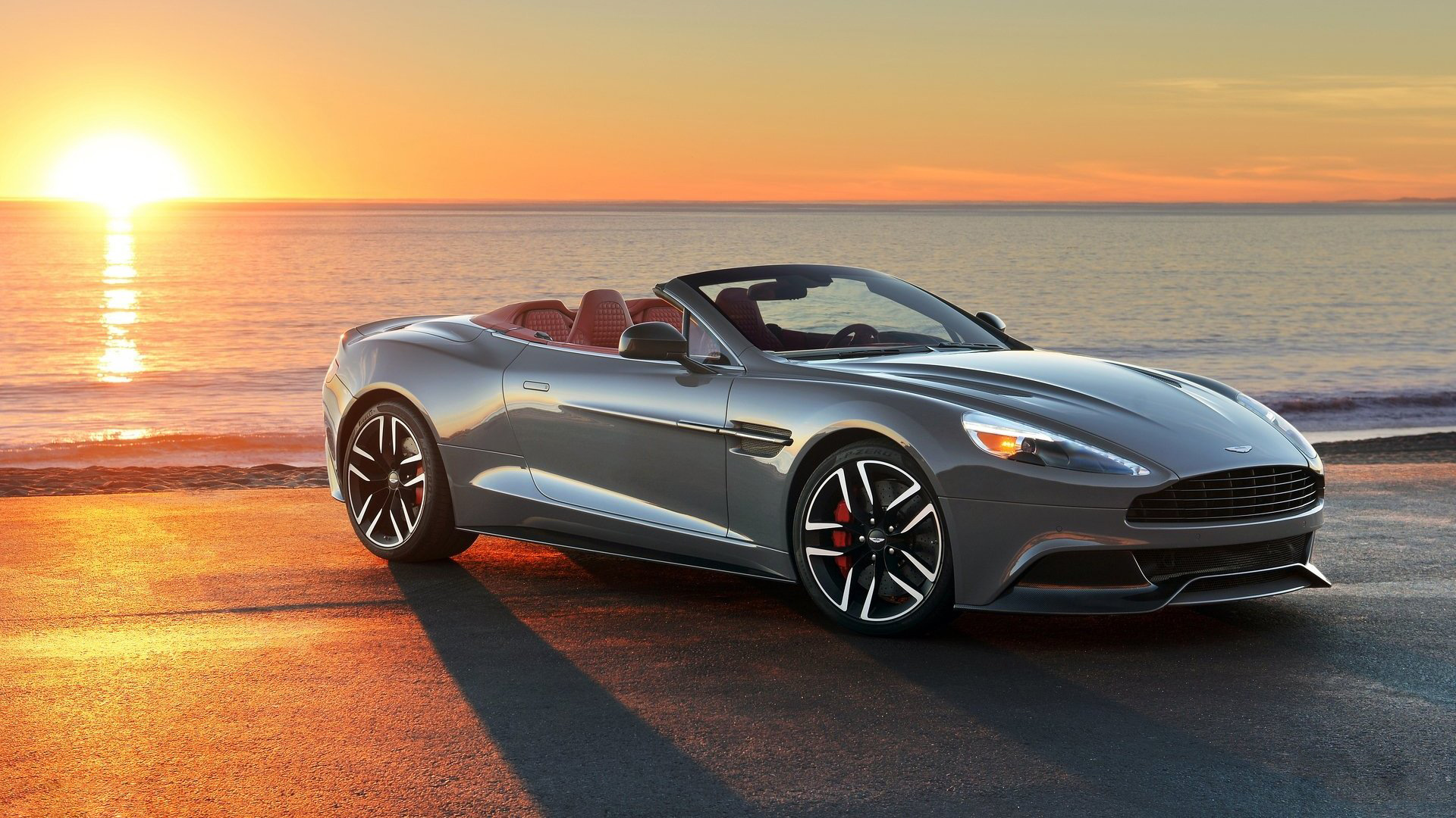2015 Aston Martin Vanquish Volante Wallpaper 1920x1080