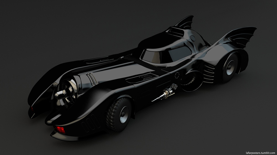1989 Batmobile Wallpaper Batmobile 1989 by lafar88 960x540