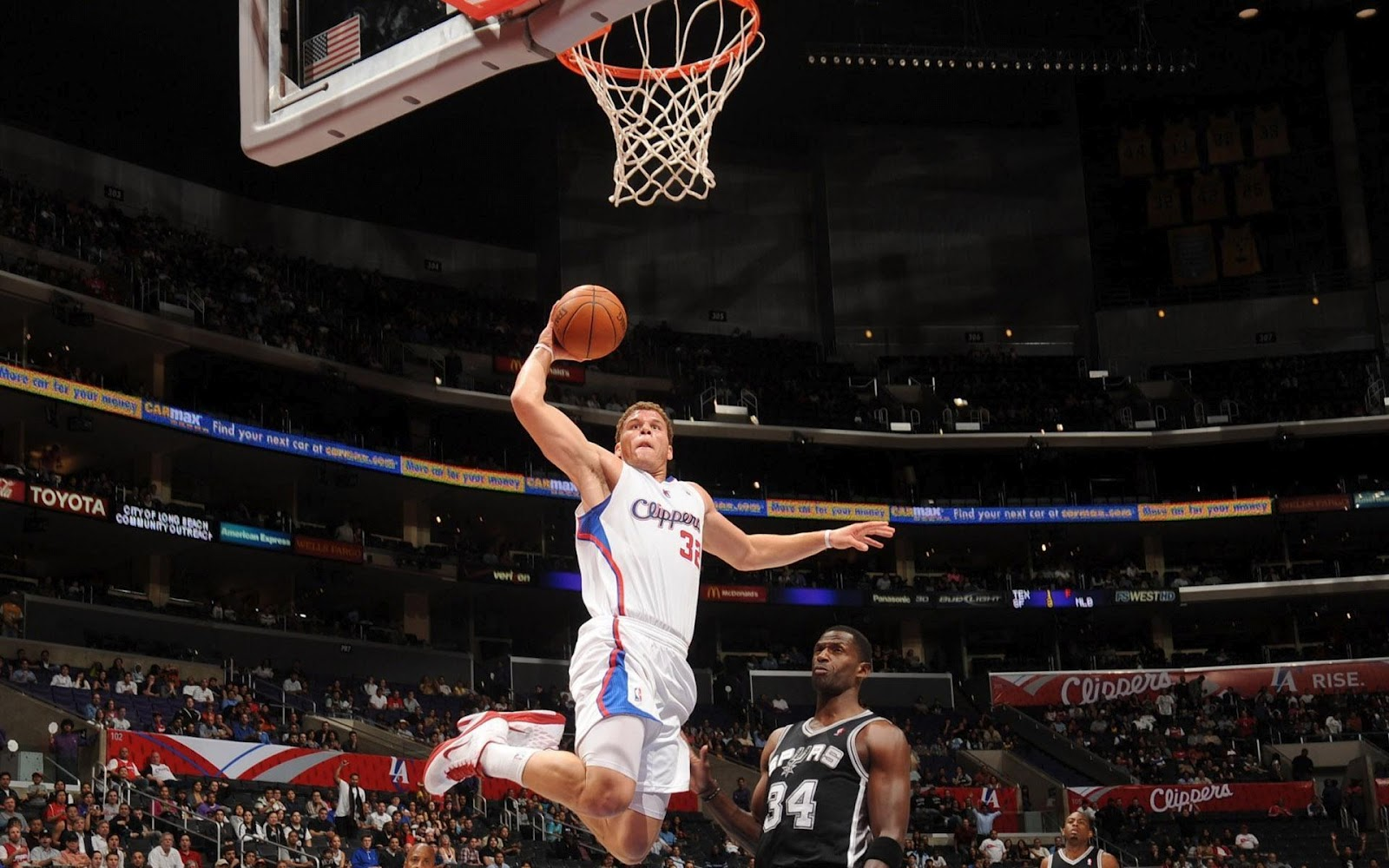 Blake Griffin Los Angeles Clippers wallpapers 1600x1000