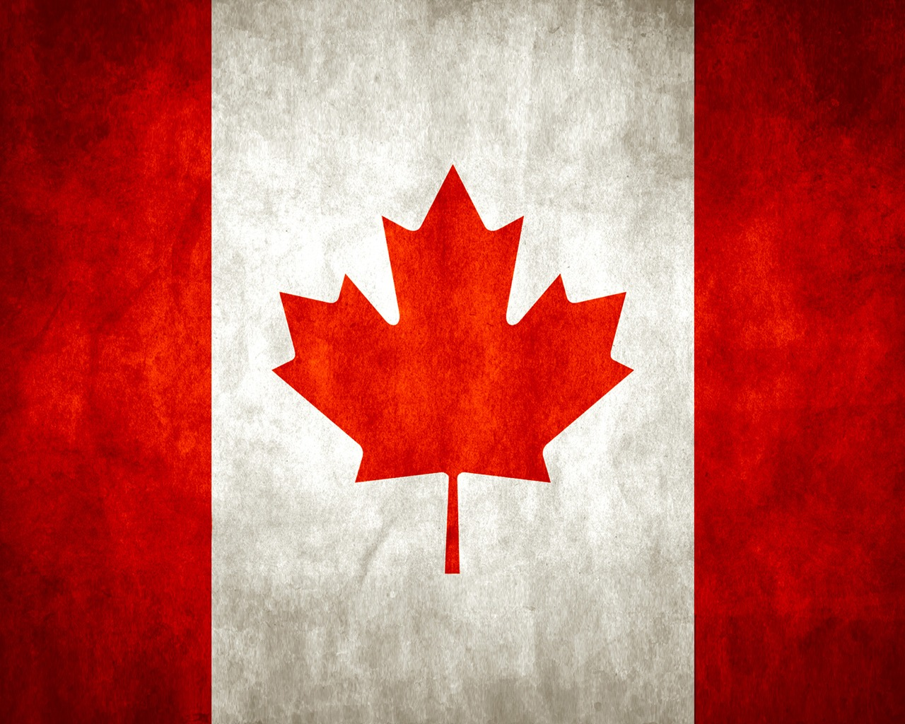 Download Canada wallpaper canada flag wallpaper 1280x1024