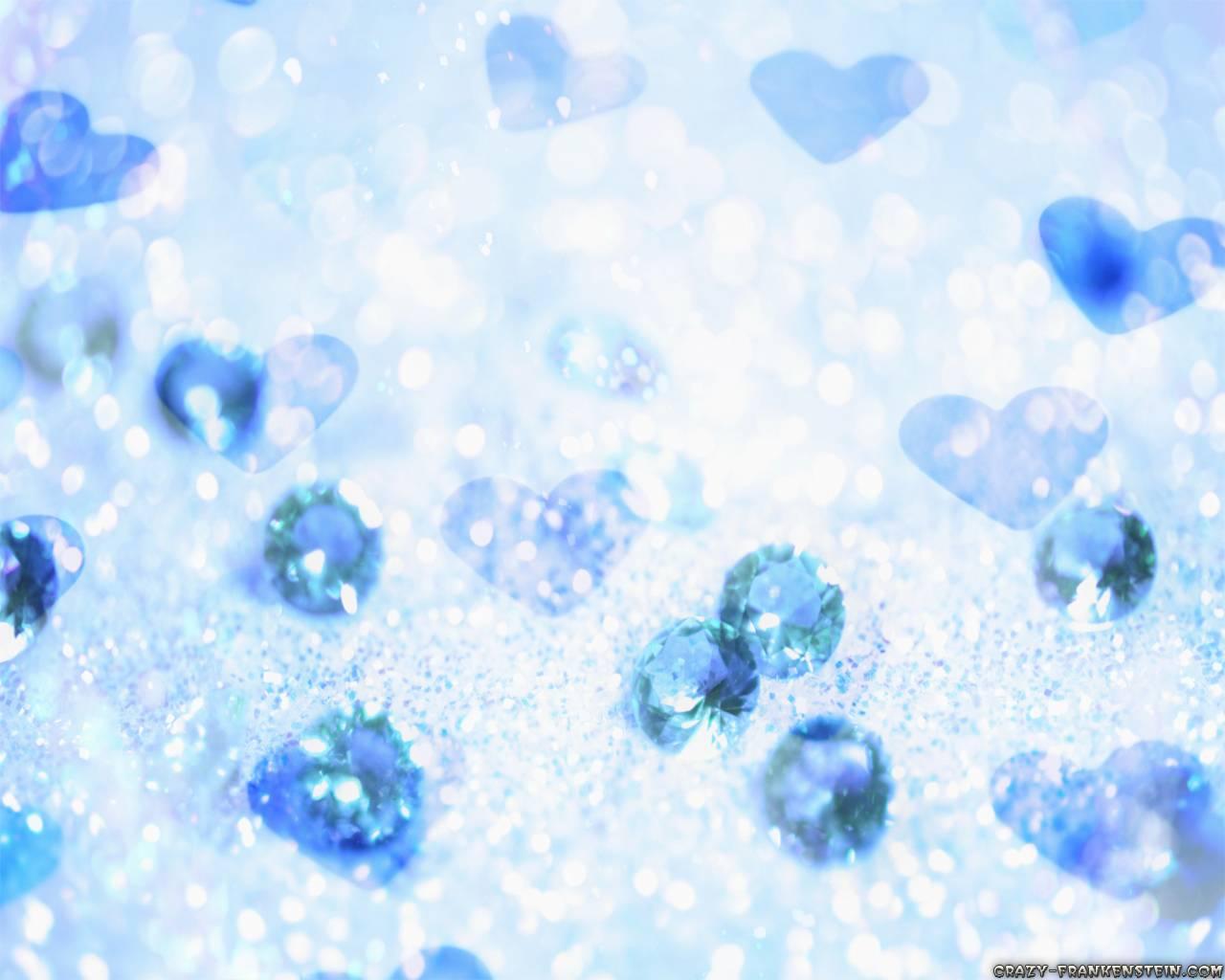 Blue Heart Wallpaper - WallpaperSafari Blue Heart Wallpapers