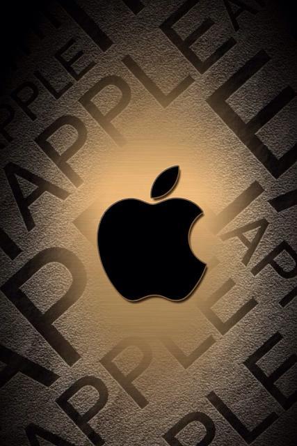 427x640px Gold Apple Wallpaper Wallpapersafari