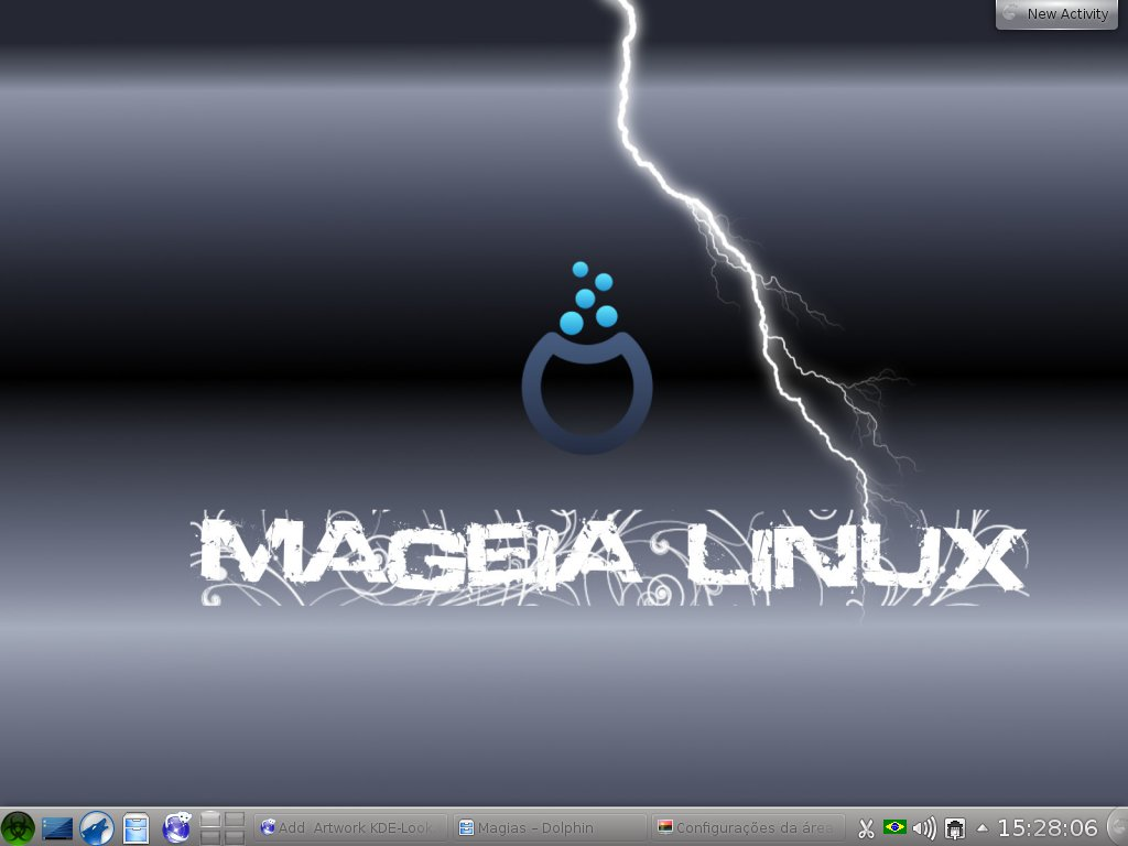 Mageia Linux   Wallpapers 1024x768