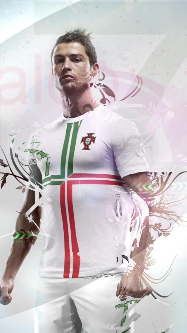 Cristiano Ronaldo Wallpaper iPhone 5 iPhonepictcom iPhone5 640x1136