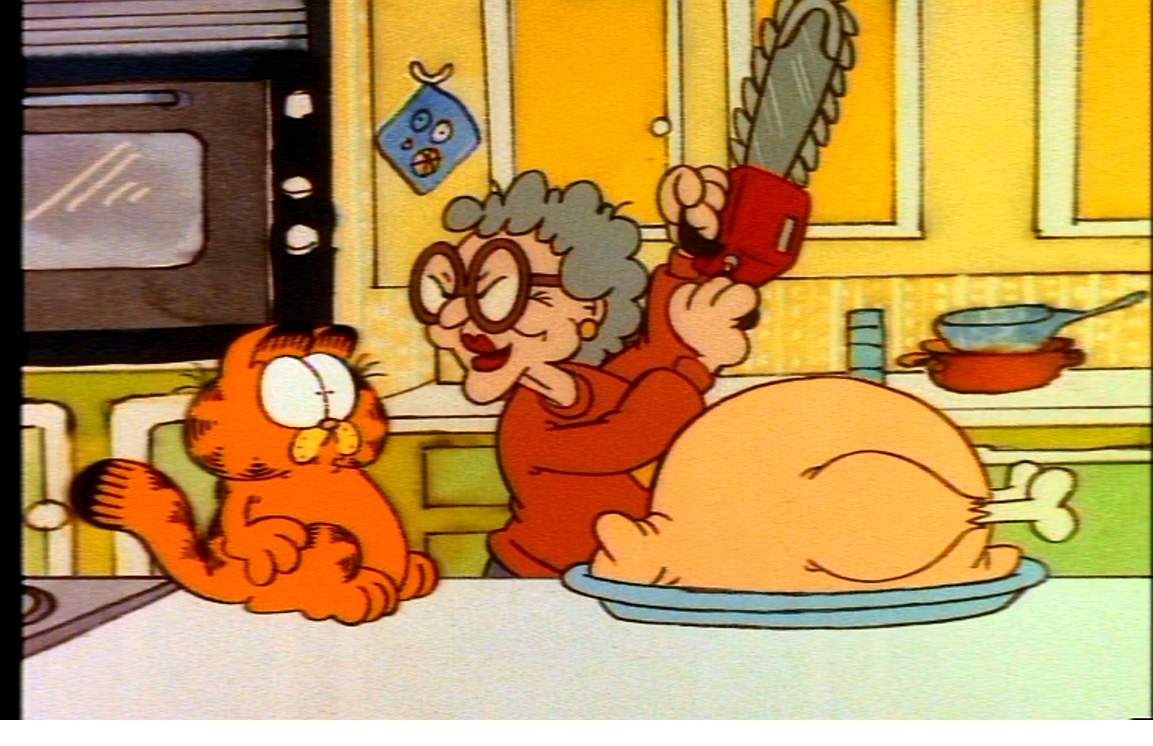 This Garfield Thanksgiving special is one which unlike the Halloween 1680x1088