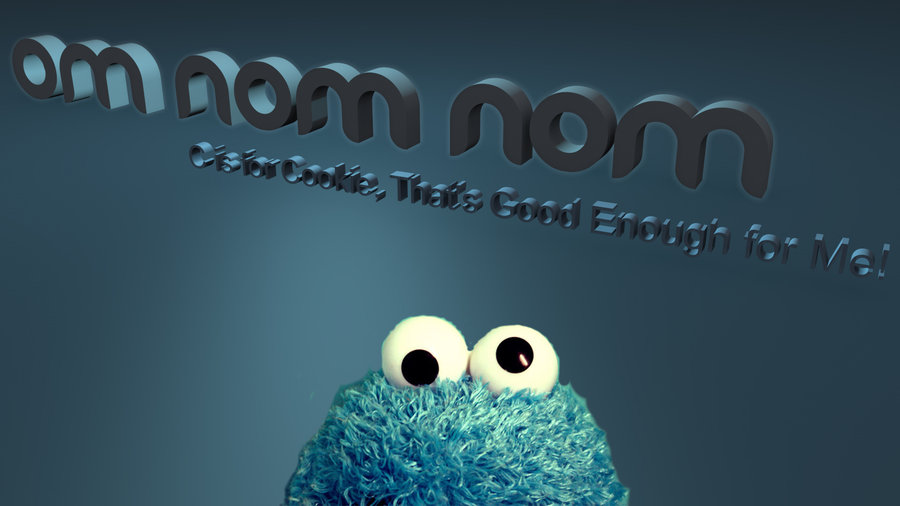 Quotes About Smiles Funny Cookie Monster W...