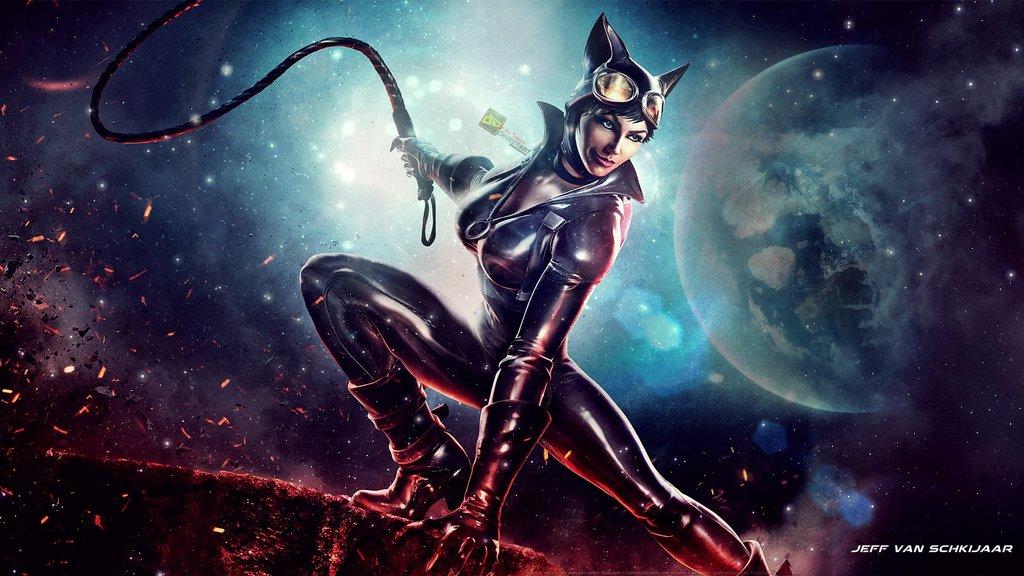 Catwoman Wallpaper Infinite Crisis by jeffery10 1024x576