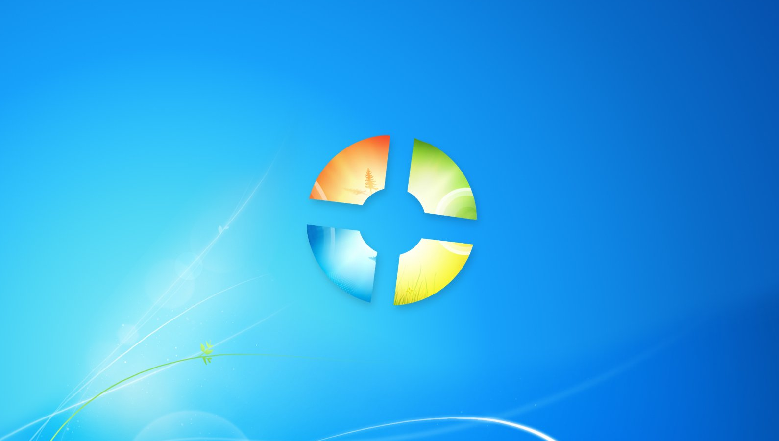 2 background images windows 7 - Windows 7 Wallpaper 1590x900 Windows 7 Wall Team Fortress 2