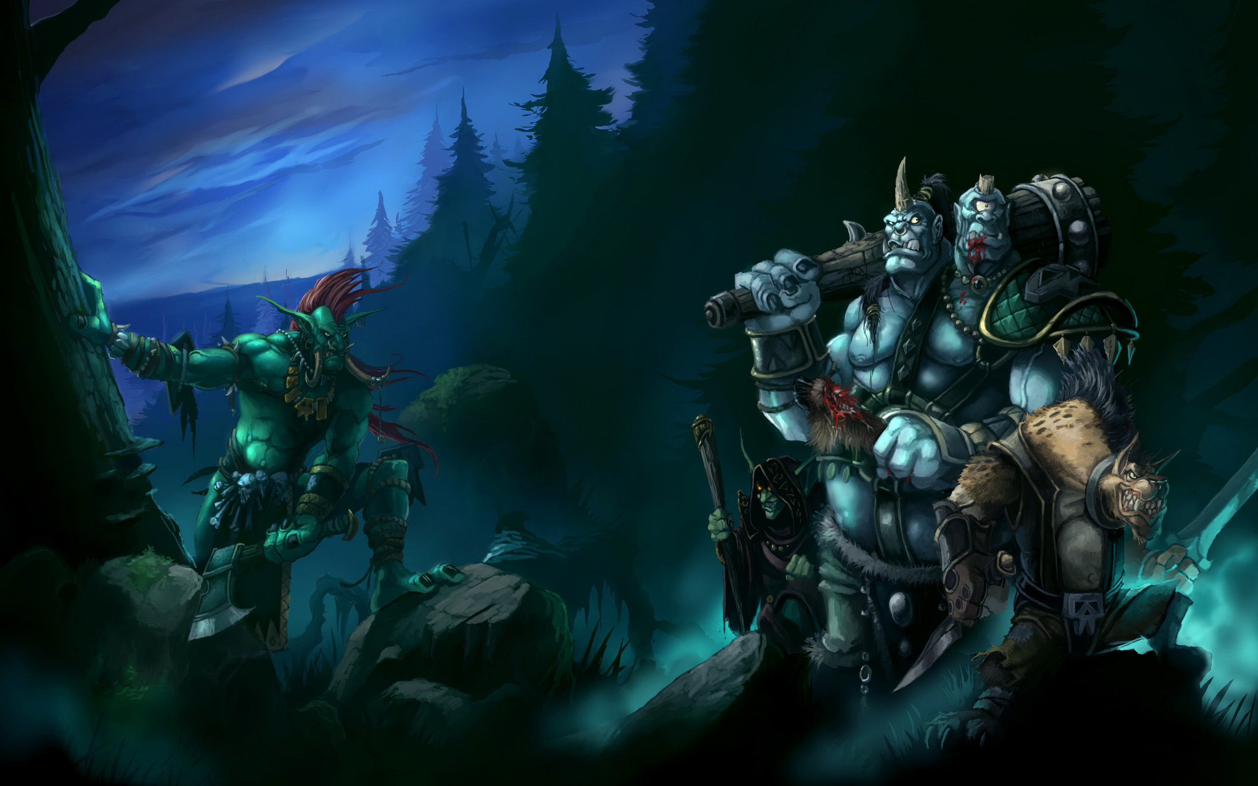 Warcraft Trolls wallpapers and images wallpapers pictures photos