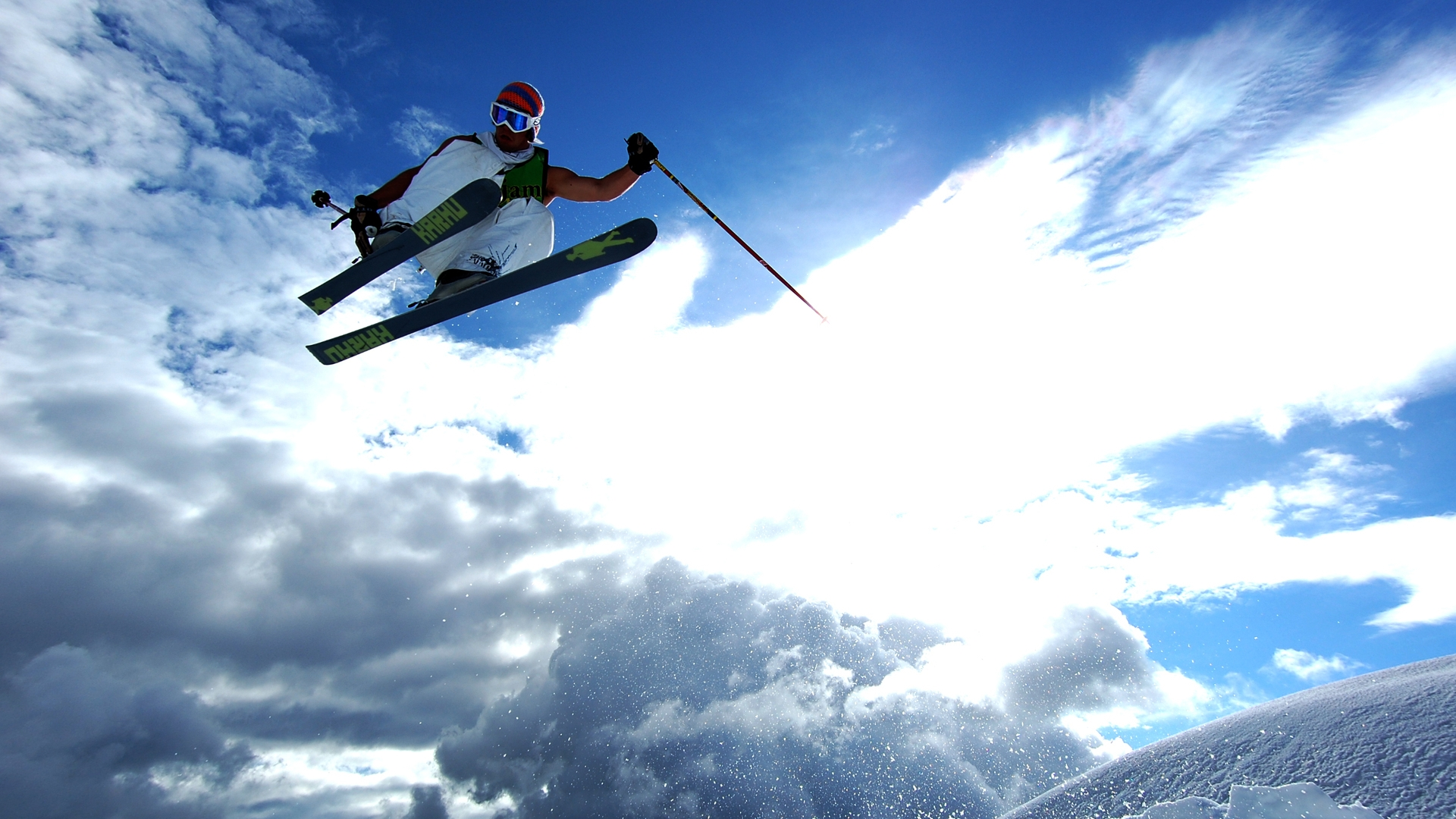 Extreme Skiing High Definition Wallpapers HD 1920x1080