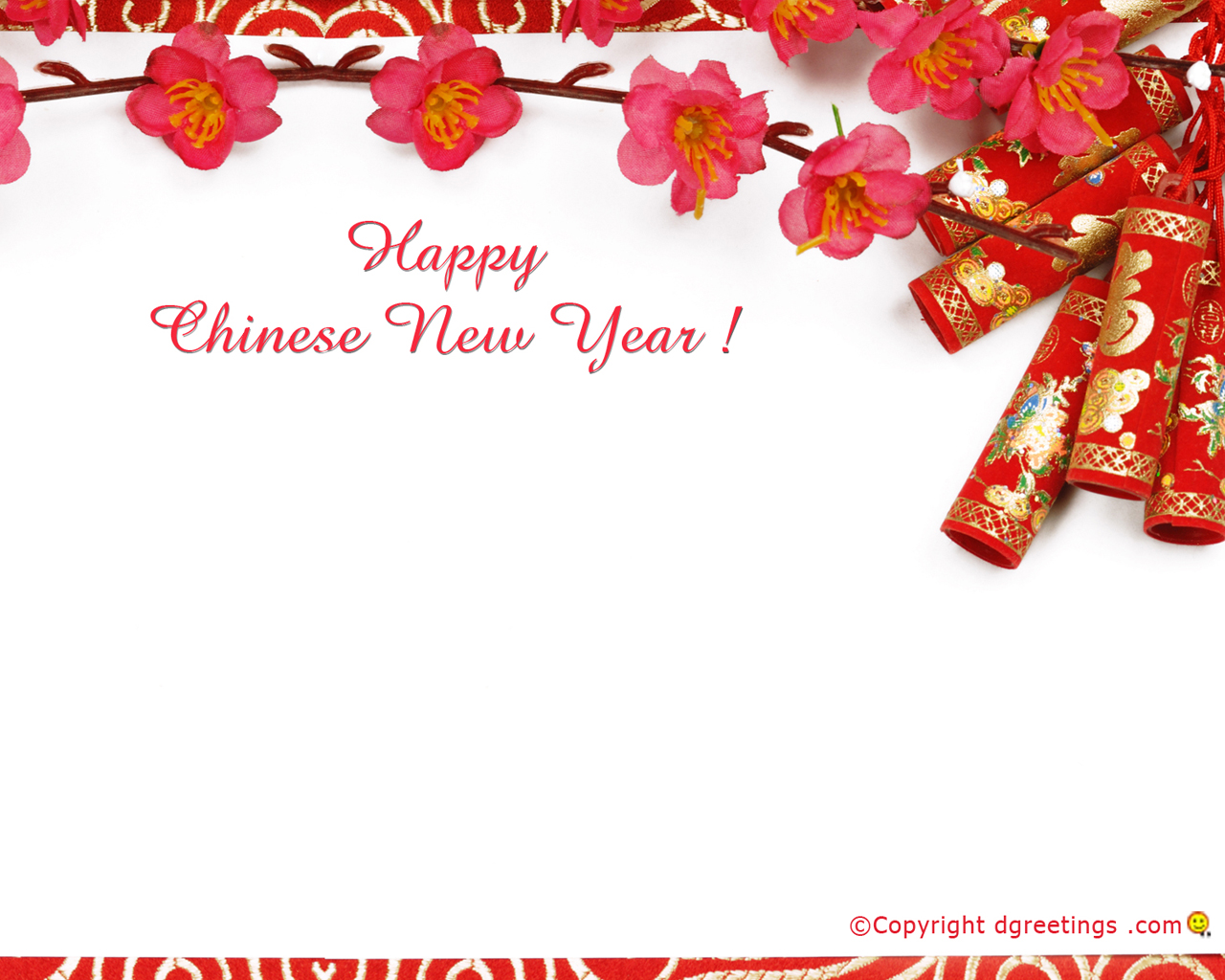 Chinese New Year Wallpaper 1280x1024