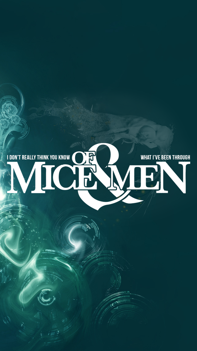 Of Mice And Men iPhone 5 Wallpaper by MotionlessInTyler 640x1136