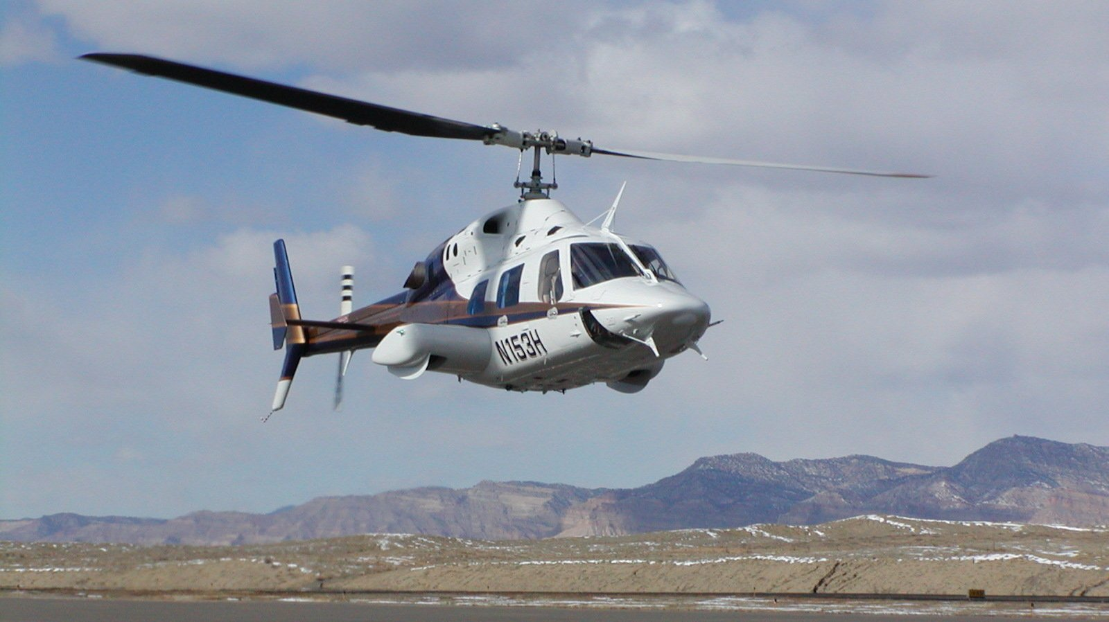 Helicopter Bell B222 1600x898