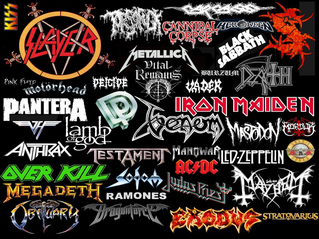 Rock Rock N Roll e Metal Wallpapers Heavy Metal 1024x768