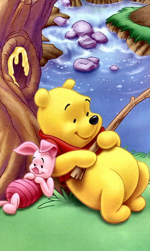 Free download winnie pooh mobile wallpaper [480x800] for ...