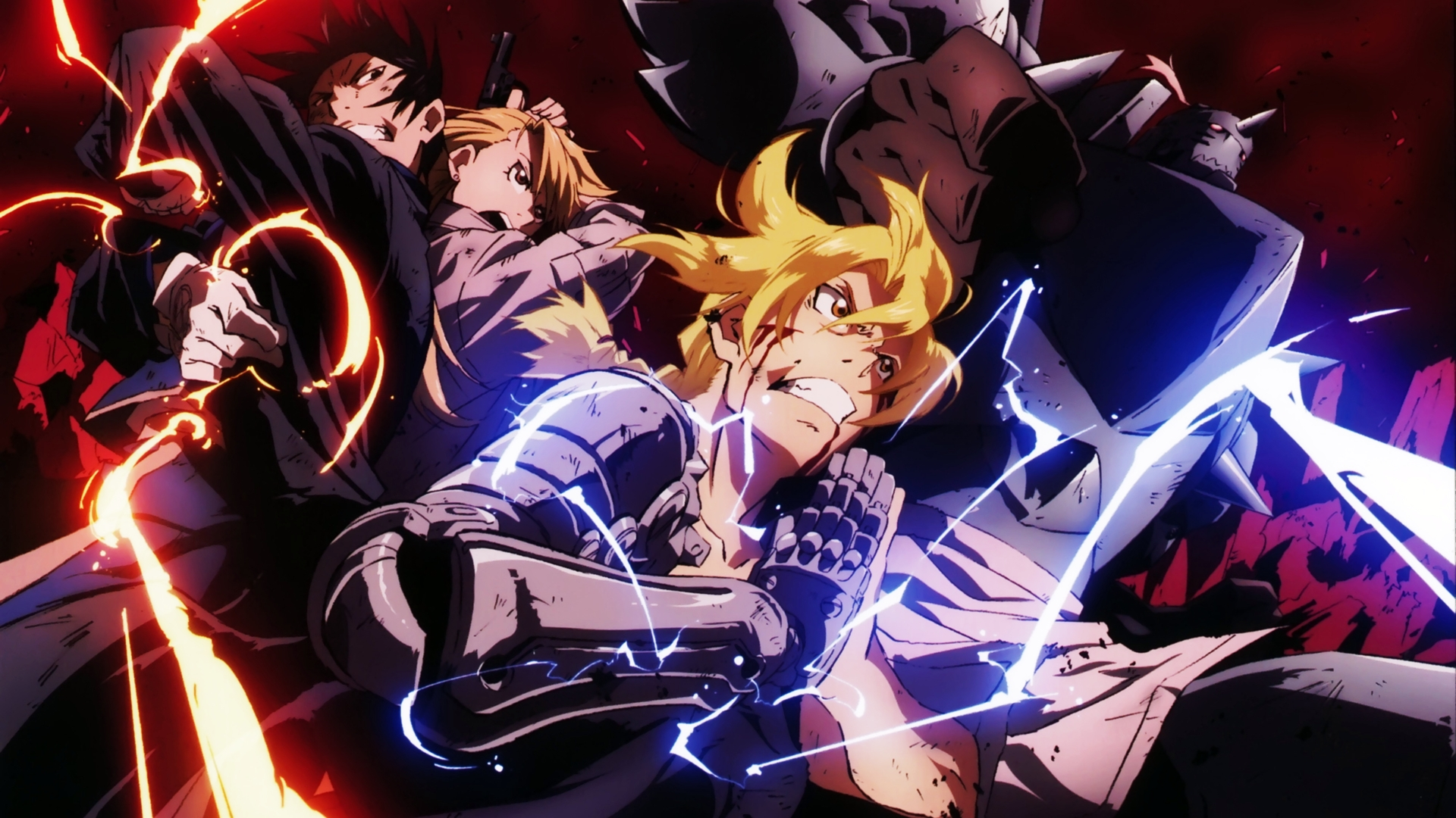 fullmetal alchemist wallpaper phone