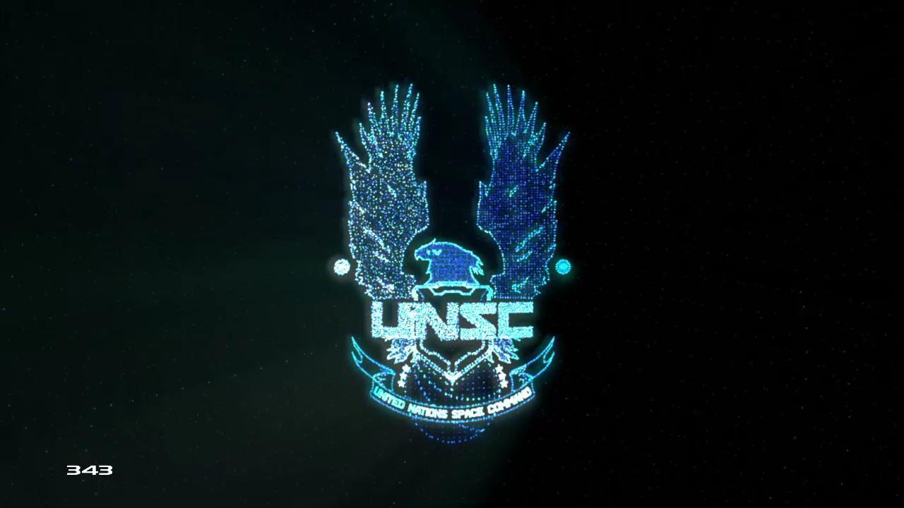 Unsc Logo Wallpaper Hd Unsc logo wall 1280x720