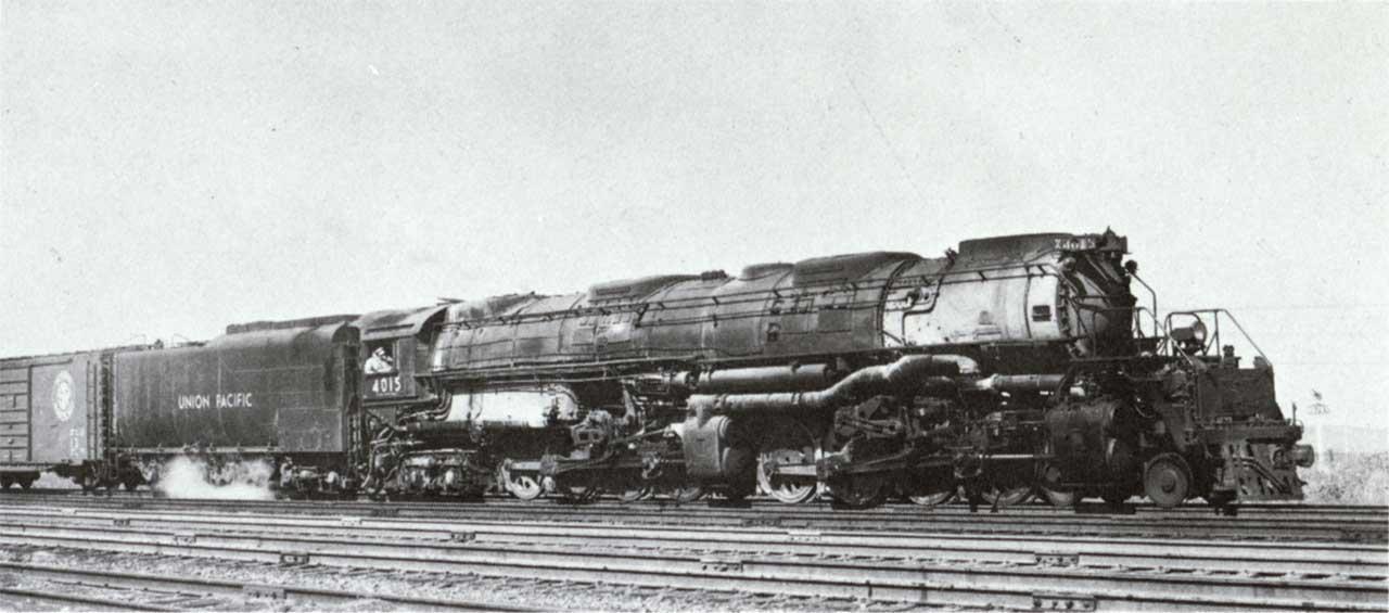 Big Boy Locomotive Wallpaper Wallpapersafari