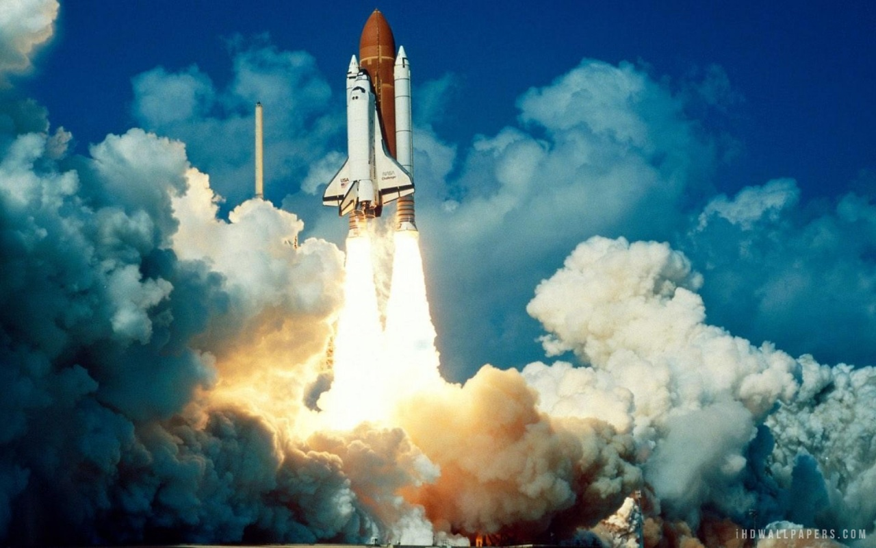 Space Shuttle Launch HD Wallpaper   iHD Wallpapers 1280x800