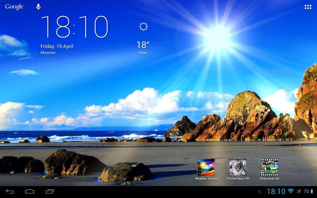 Weather Live Wallpaper Android One Wallpapers