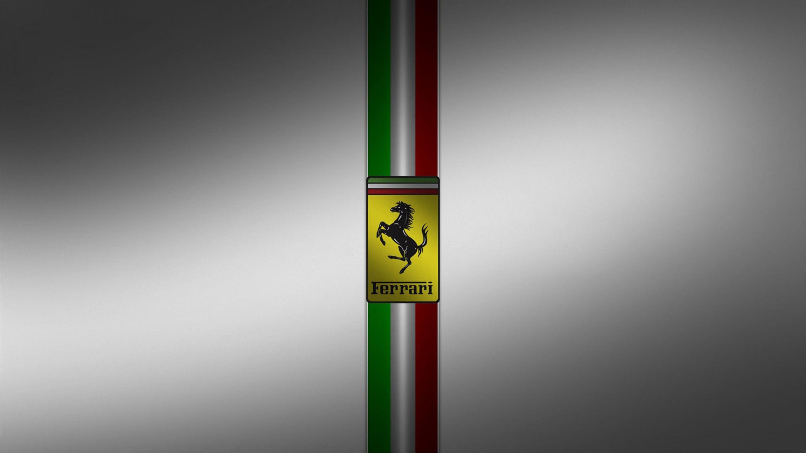 Download Ferrari Logo Wallpaper Hd 2560x1440 76 Ferrari Logo