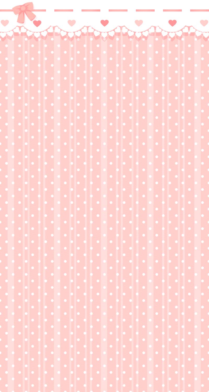 Pastel Pink Polka Dot Background Pink polka dot 800x1500