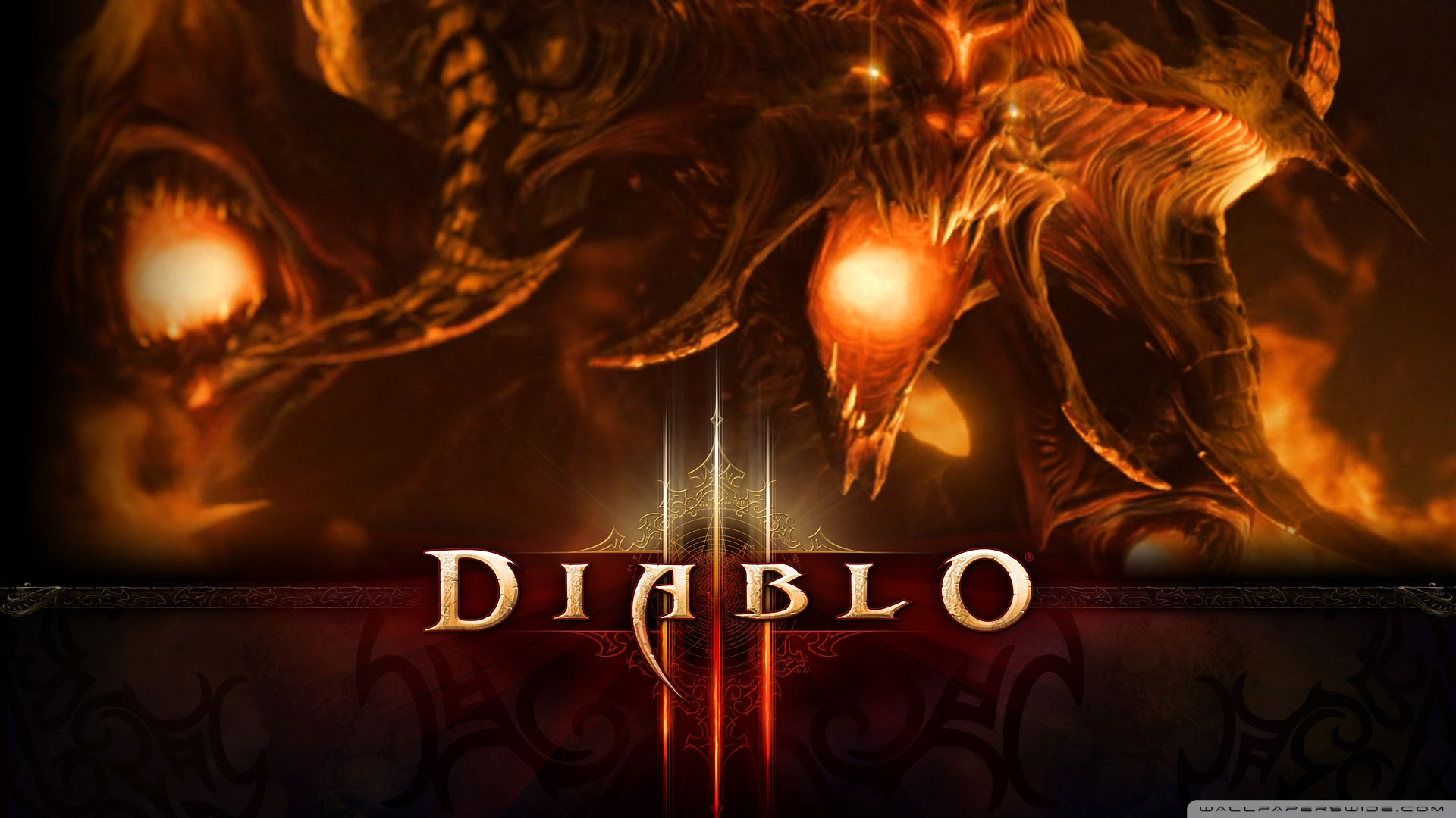 III Cinematic Shows Diablo Himself Rising from the depths of hell 1920x1080