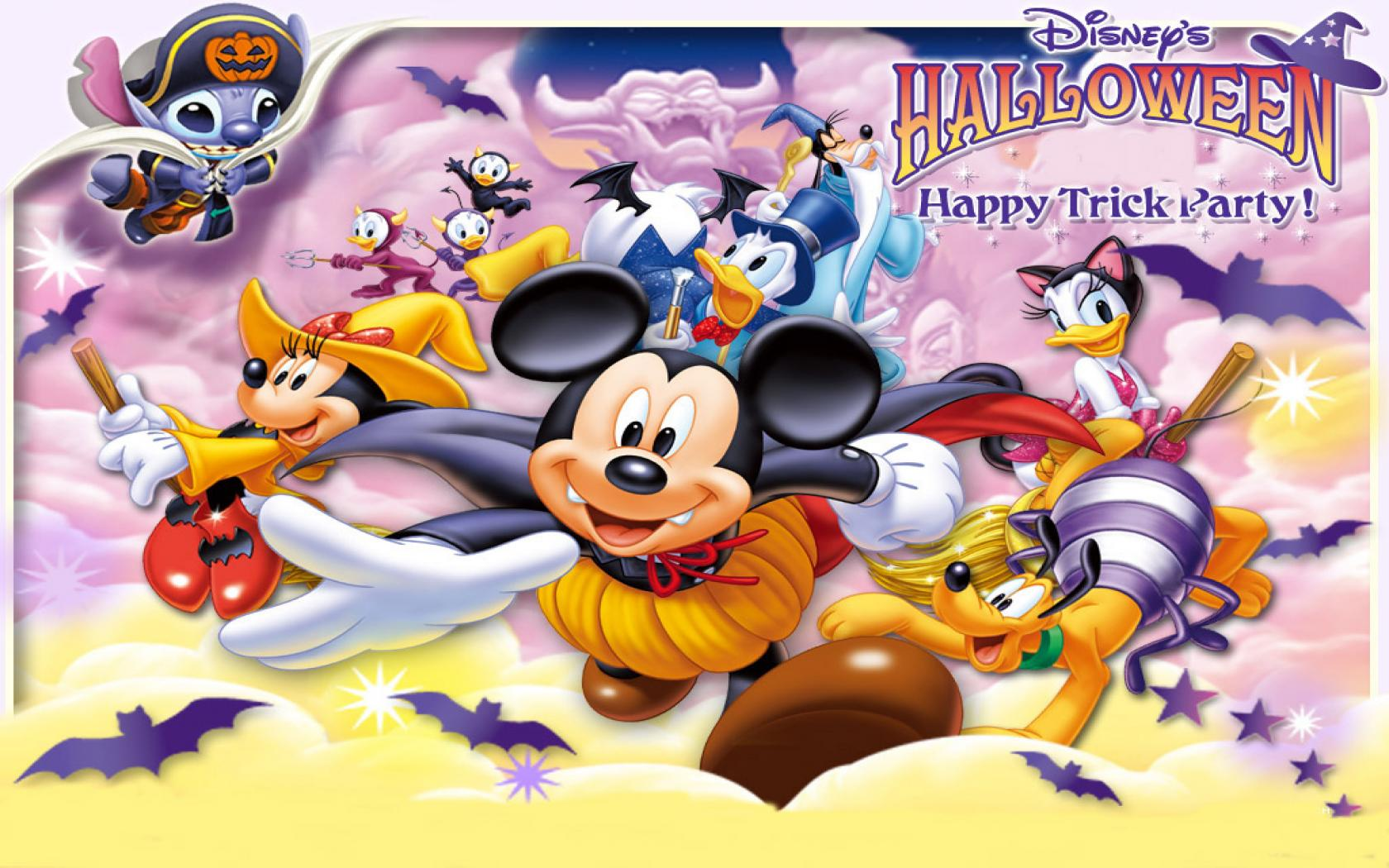 Cute Disney Halloween Backgrounds wallpaper wallpaper hd 1680x1050