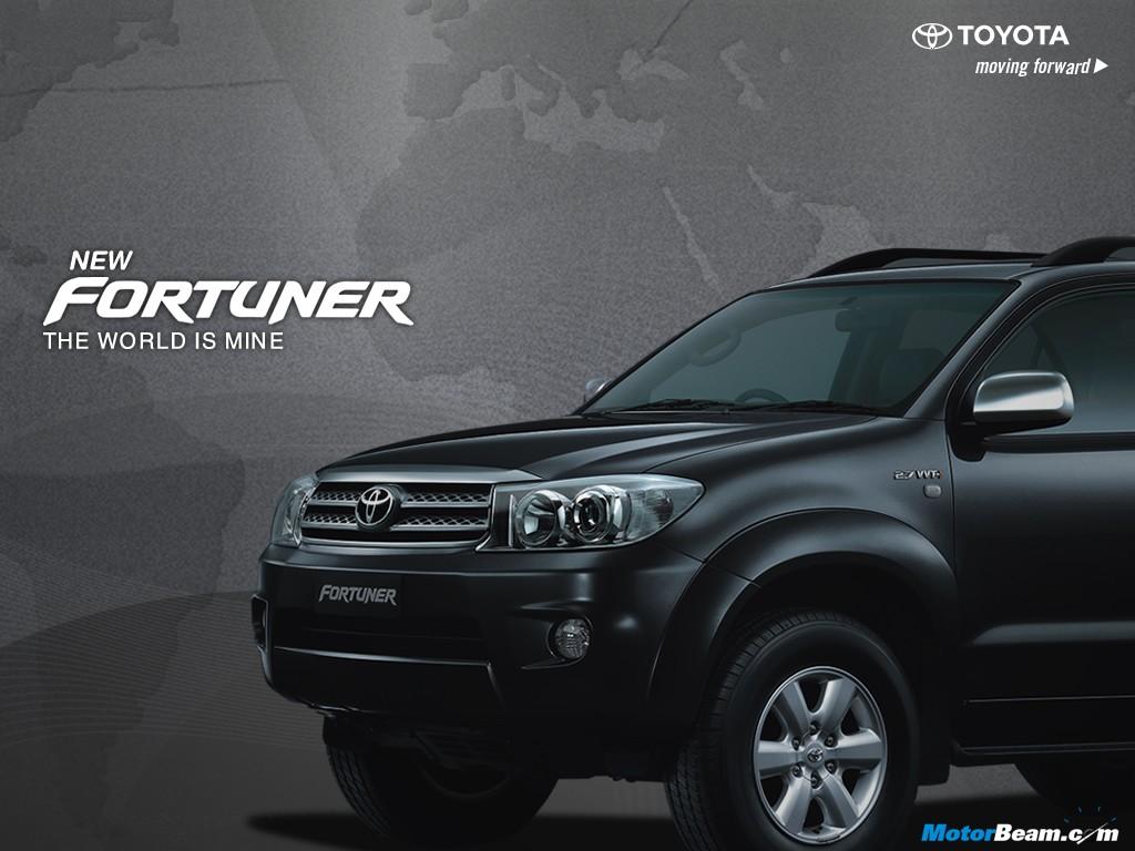 Toyota Fortuner Black wallpaper 1024x768 25366 1024x768