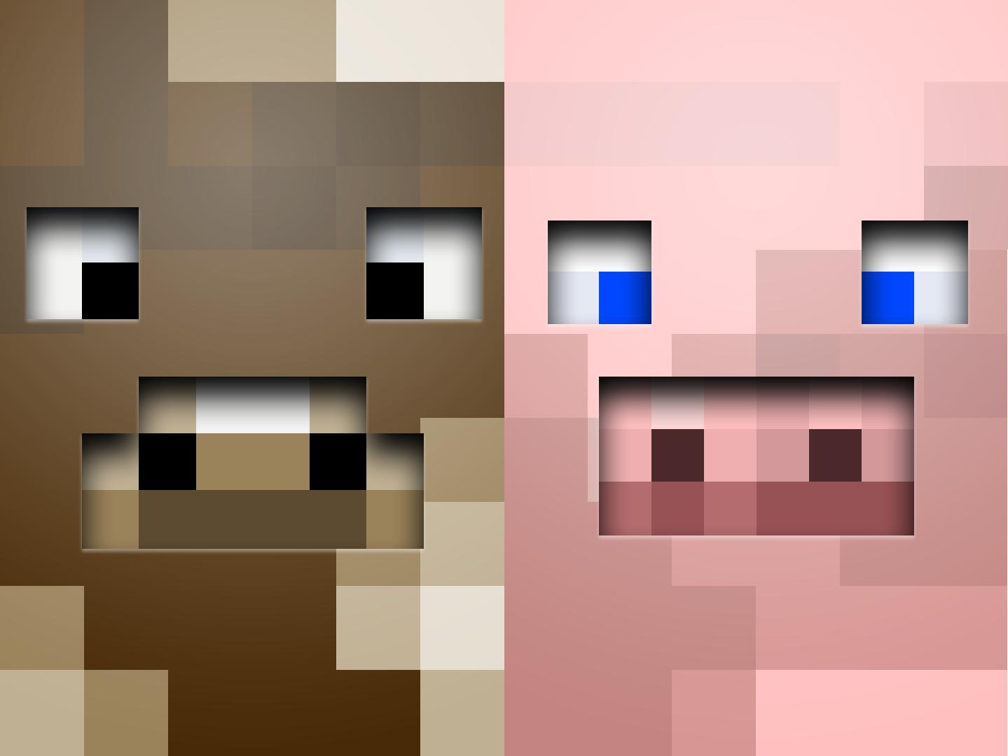 Download Minecraft Farm Wallpapers Hd By Clockworklemons 1439x1080