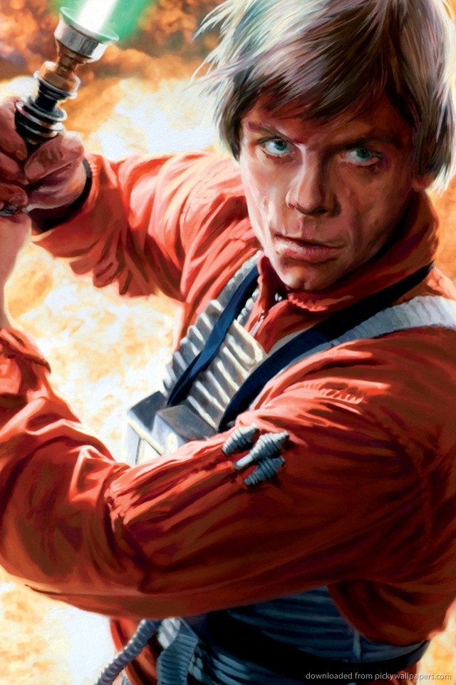 Download Luke Skywalker Wallpaper For iPhone 4 640x960
