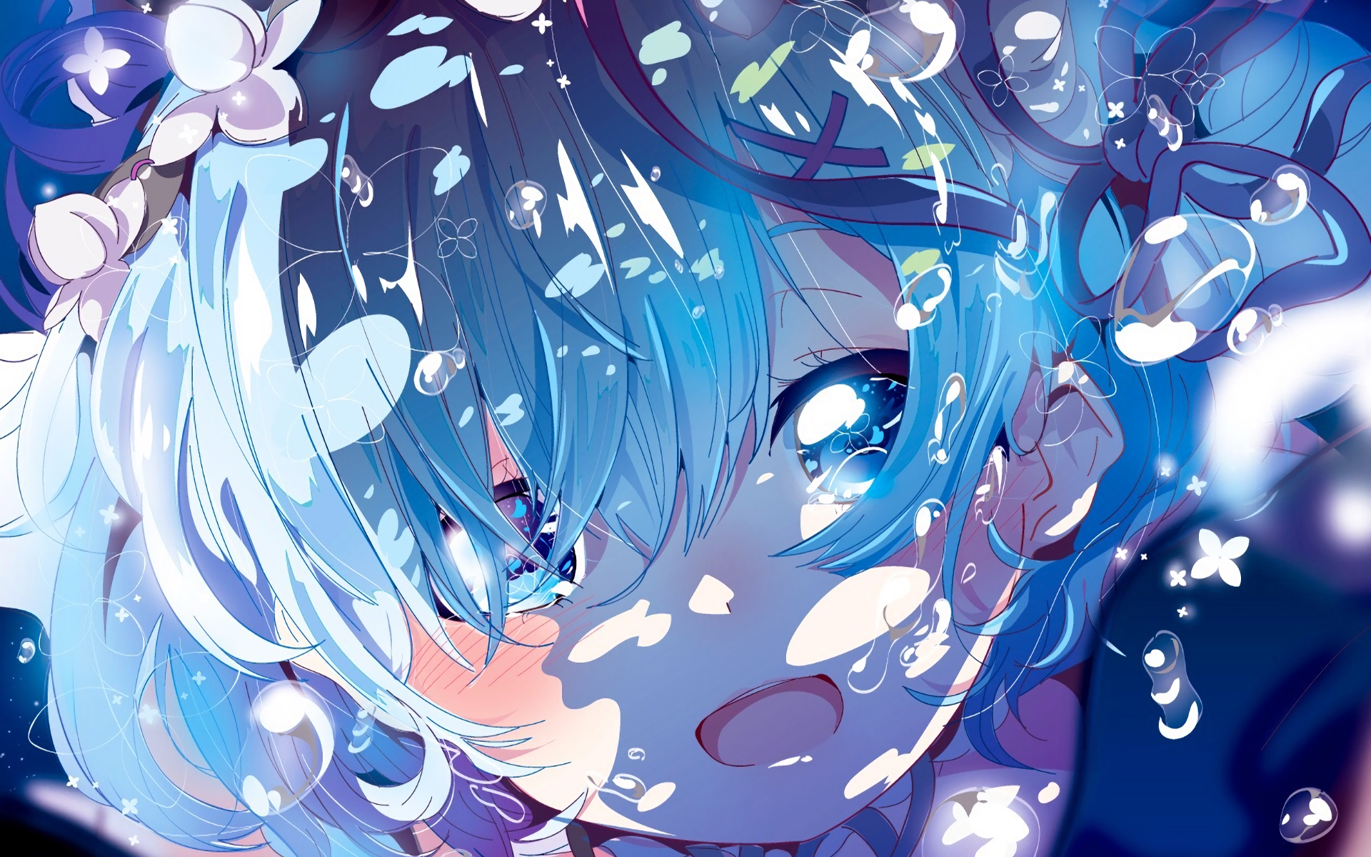 1298 Rem ReZERO HD Wallpapers Background Images 1920x1200