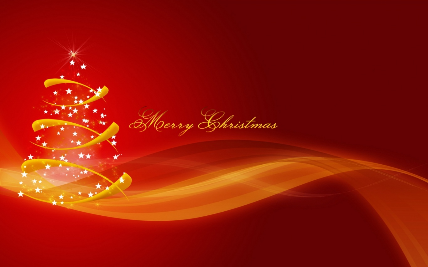 1366x768 Merry Christmas desktop PC and Mac wallpaper 1366x853