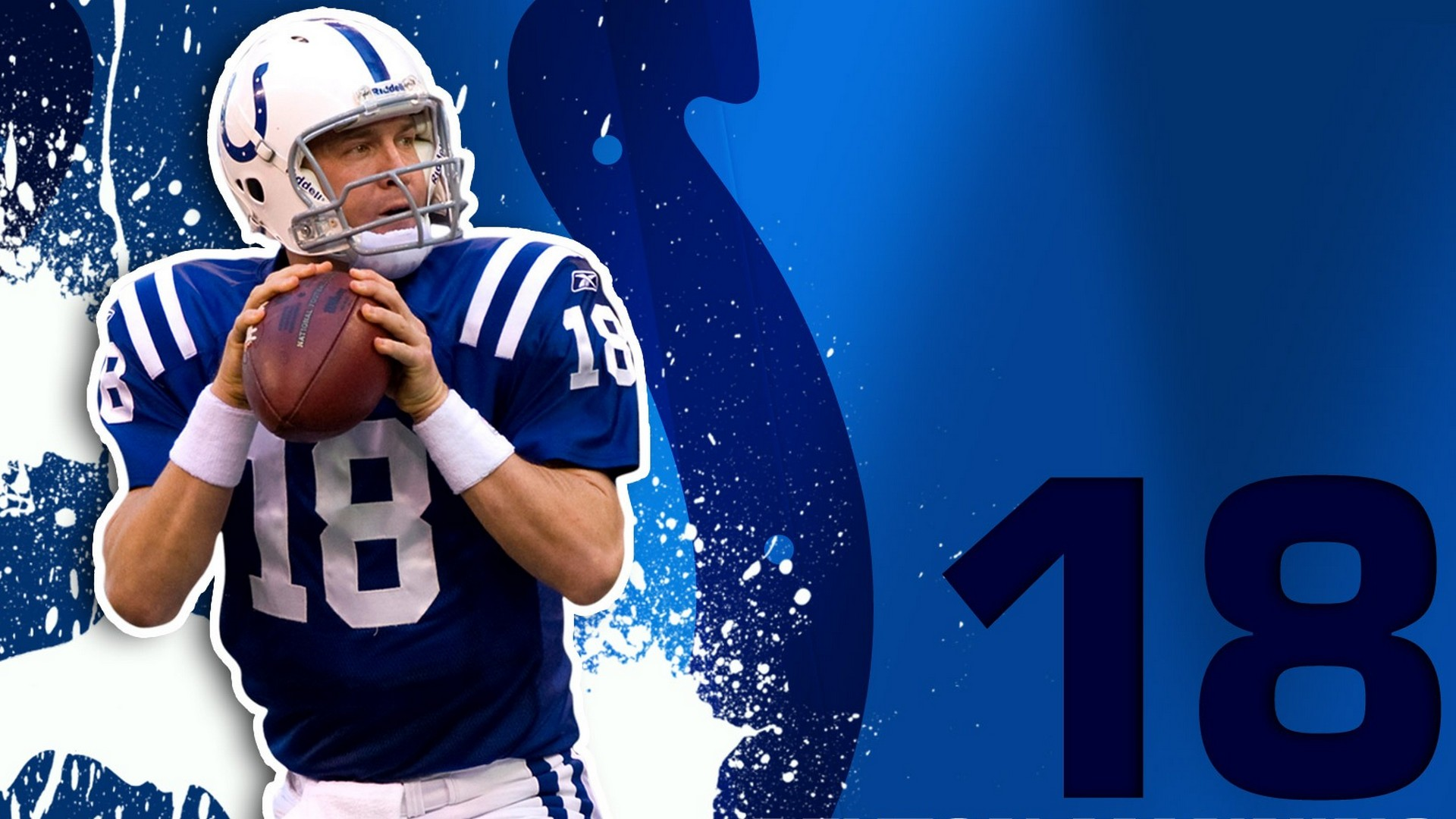 Peyton Manning Indianapolis Colts Wallpaper 2019 NFL Football 1920x1080