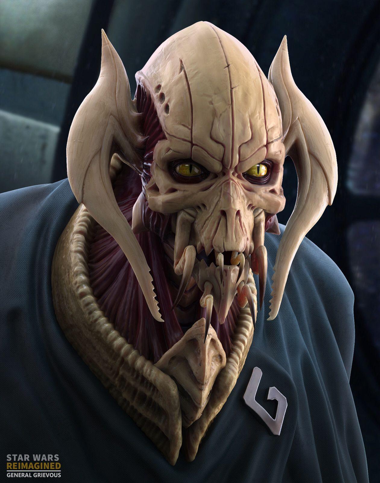 General Grievous Star Wars starwars starwarsart 1261x1600