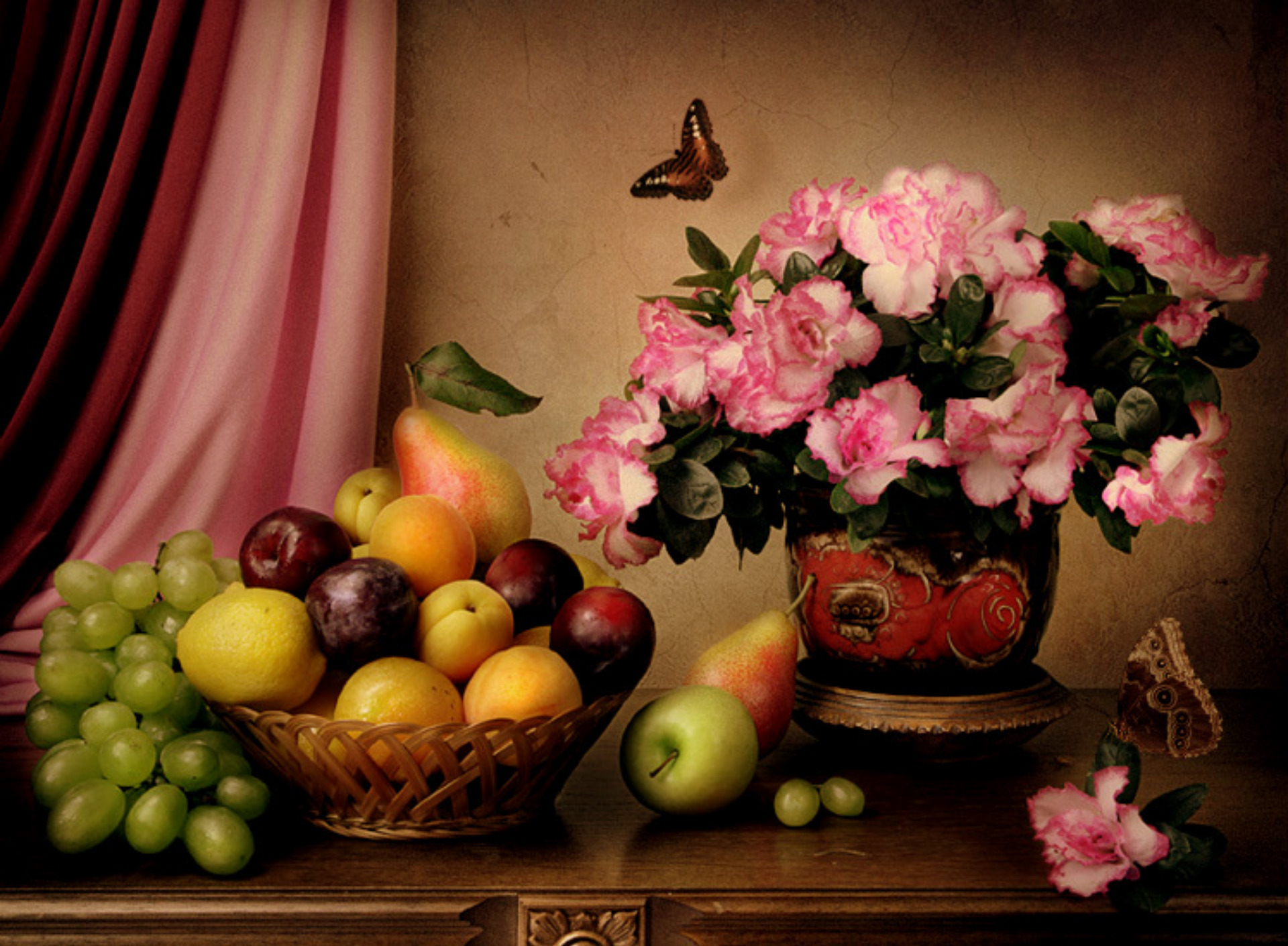 Desktop wallpaper fruits and flowers -  Free Desktop Wallpaper Spring Fruits Wallpapersafari Flowers