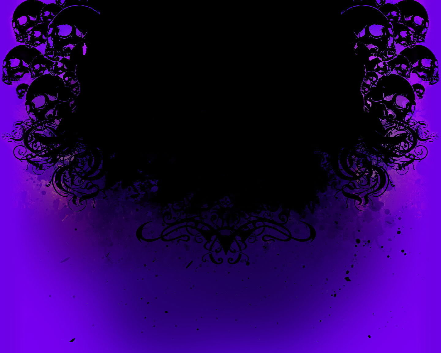 Purple Skull Wallpaper - WallpaperSafari