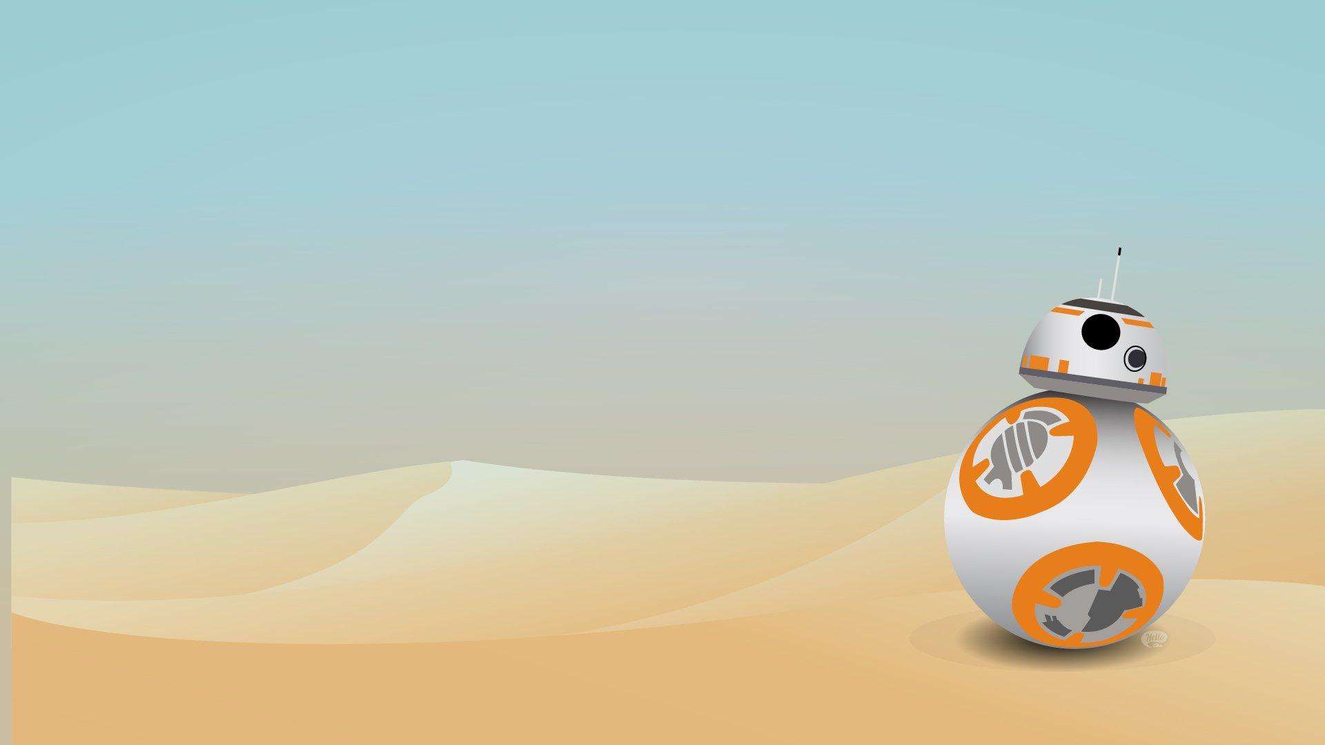 Free Download Elisa Vanhoucke Fond Dcran Star Wars Bb8
