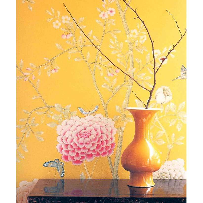 de Gournay Hand Painted Wallpaper ThisNext 823x823