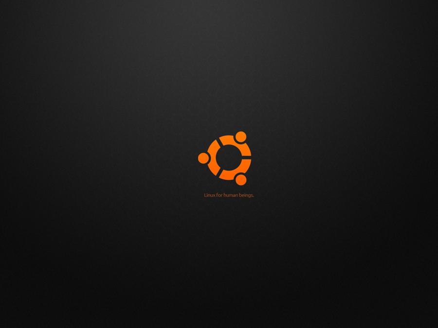 Ubuntu HD Wallpaper   Ubuntu black Wallpaper 1600x 900x675