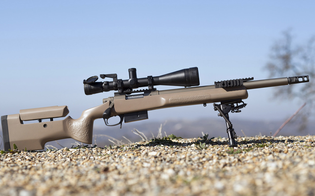 Remington 700 sniper rifle Wallpapers 01 HD Wallpaper Downloads 1280x800