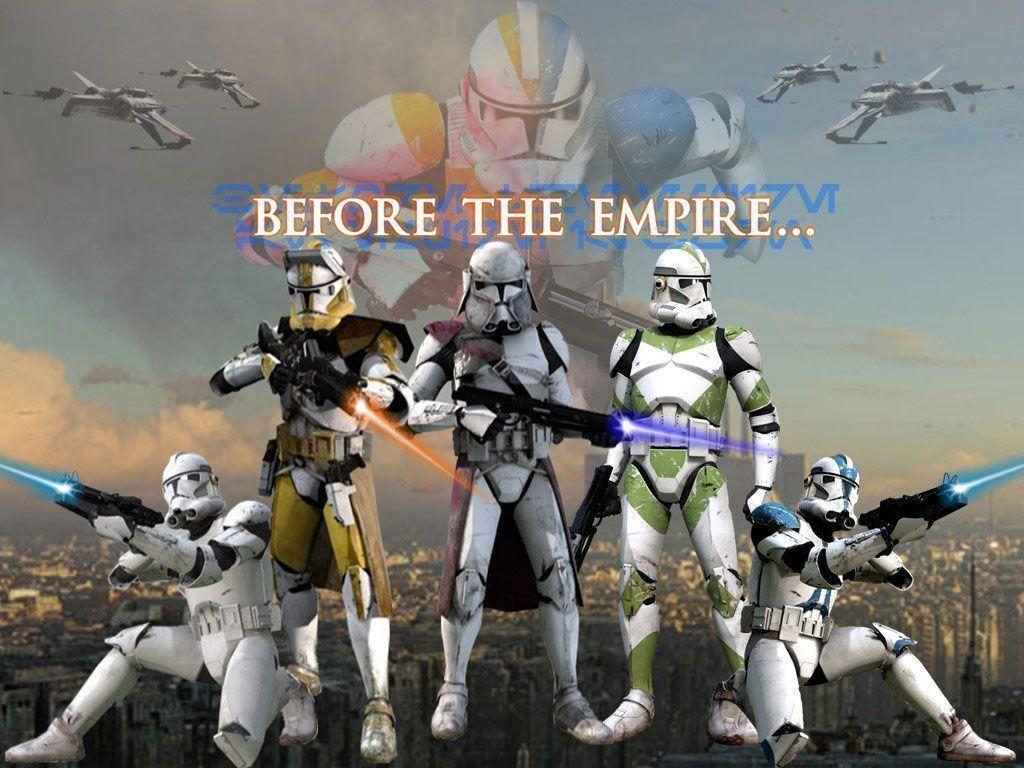 Free Download Star Wars Clone Trooper Wallpapers 1024x768