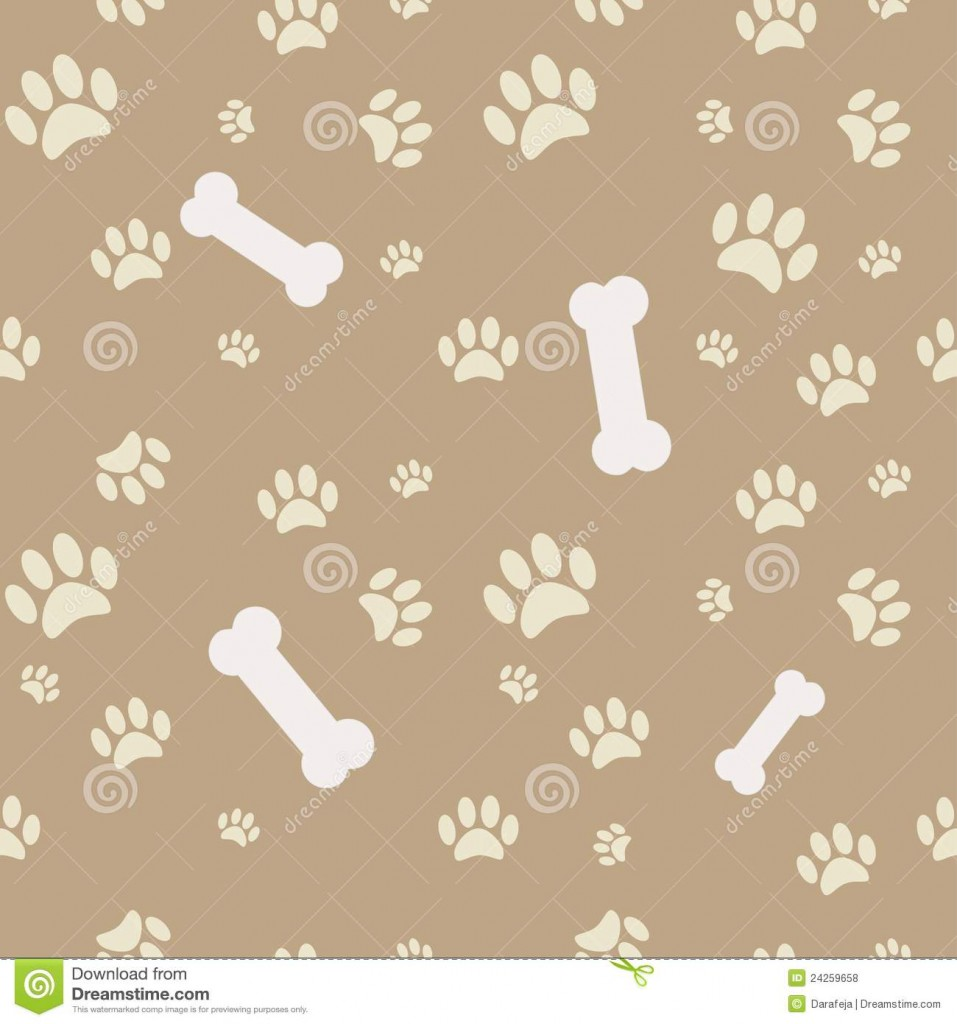 similar stock images of ` Background with dog paw print and bone 957x1024