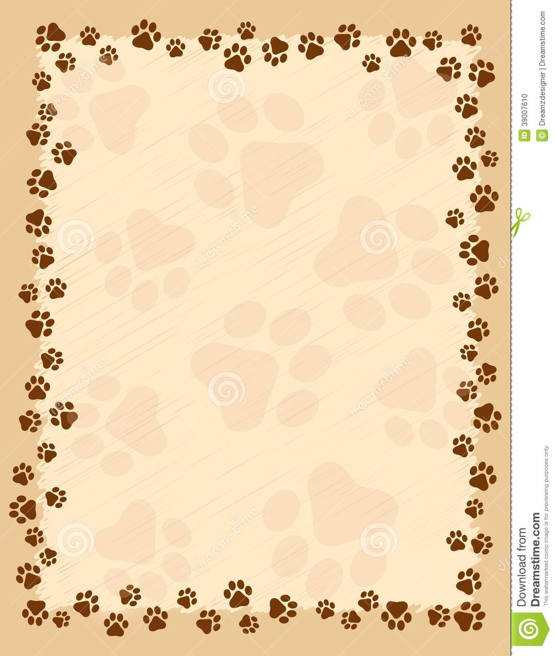 [42+] Paw Print Wallpaper Border On WallpaperSafari