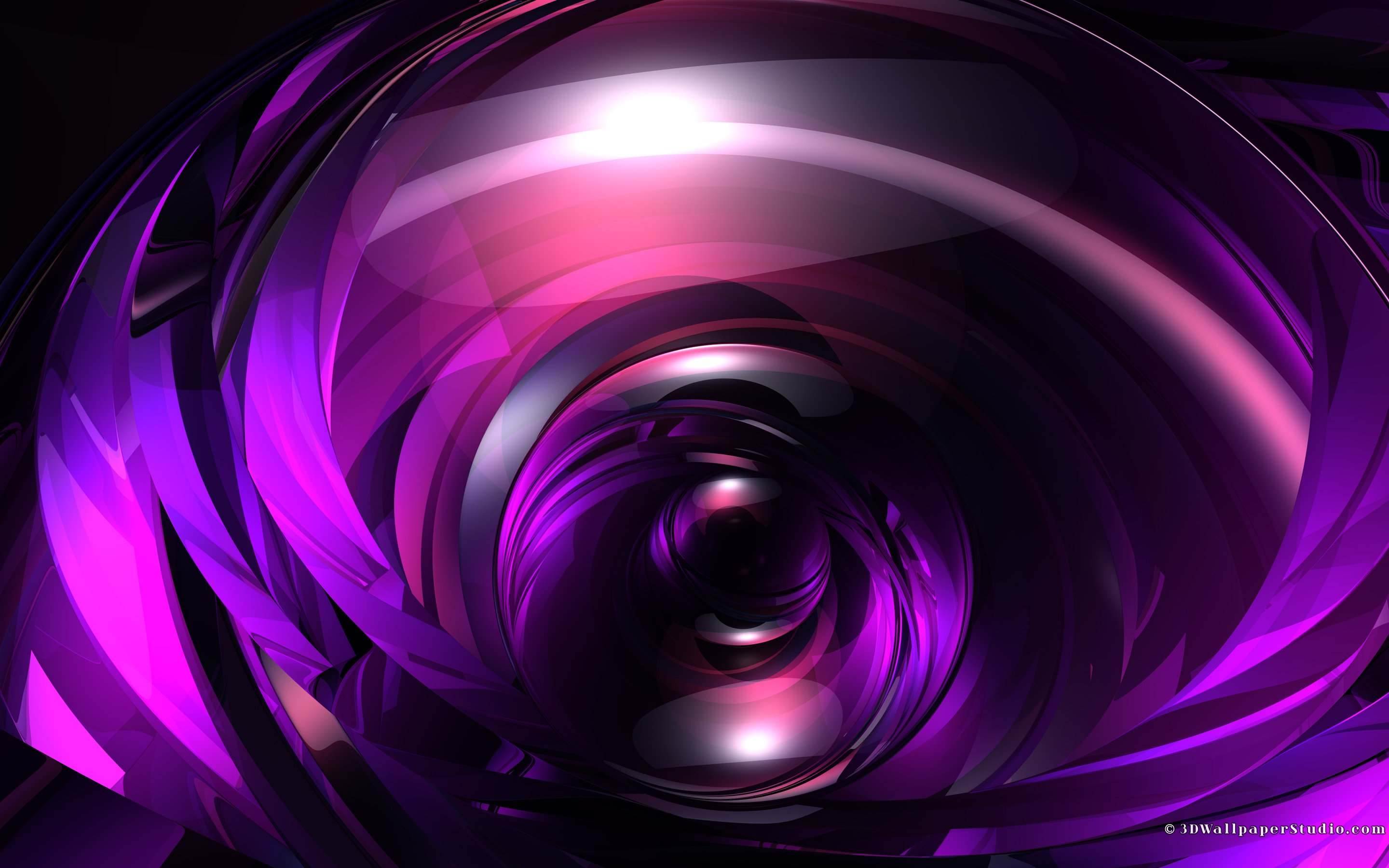 abstract purple glossy wallpapers 2880x1800