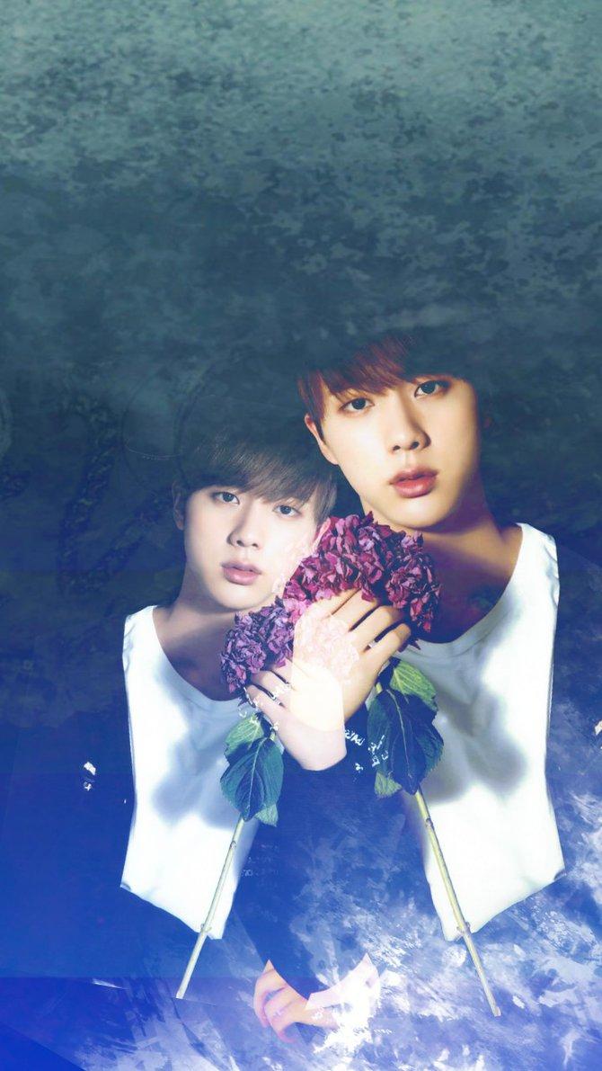 Jin BTS Wallpaper Edit by sayityesORno 670x1191