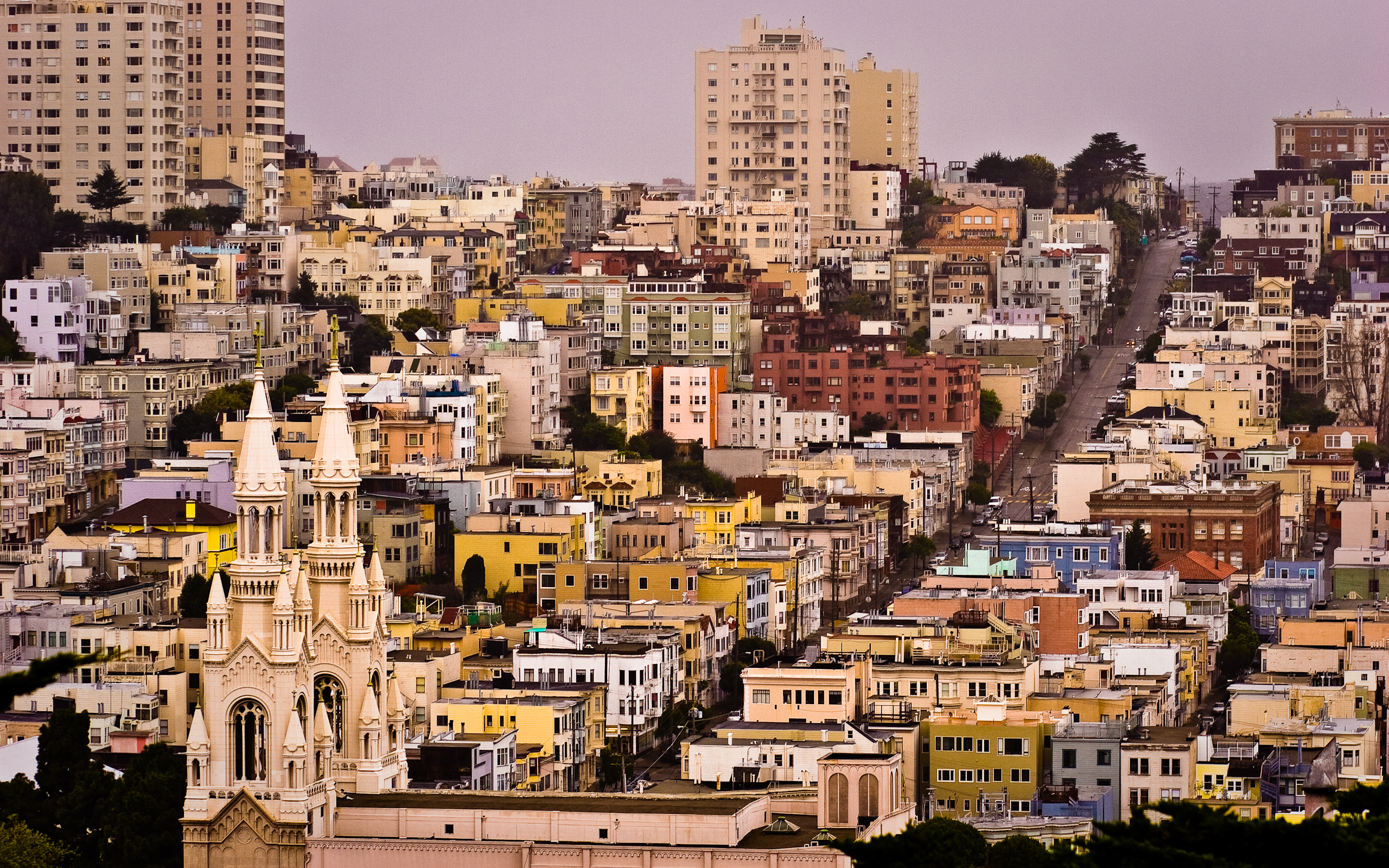 San Francisco Streets Wallpaper Hd