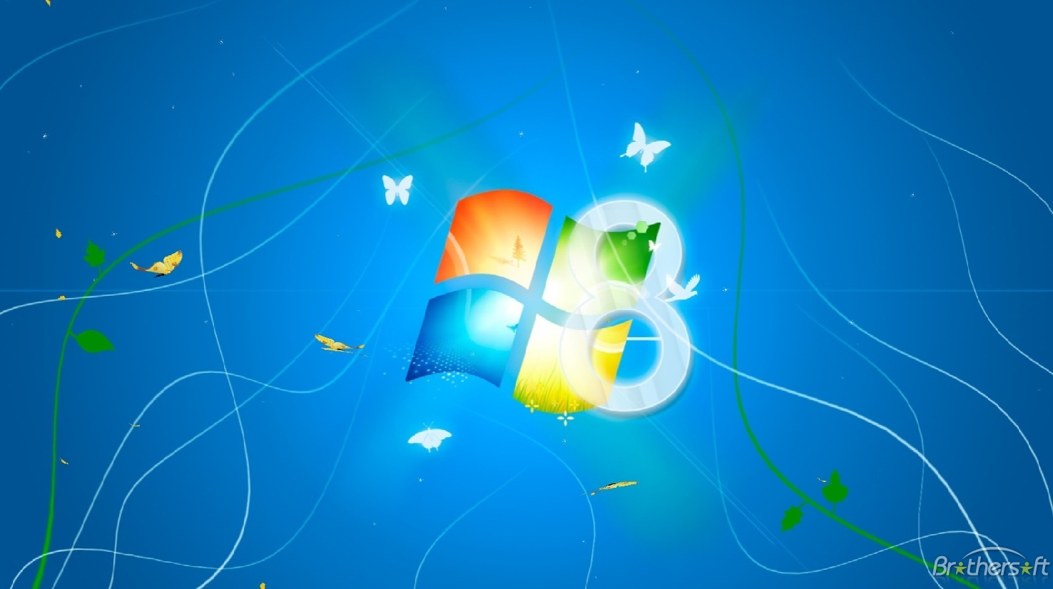Windows 8 Light Animated Wallpaper Windows 8 Light Animated 1476x826