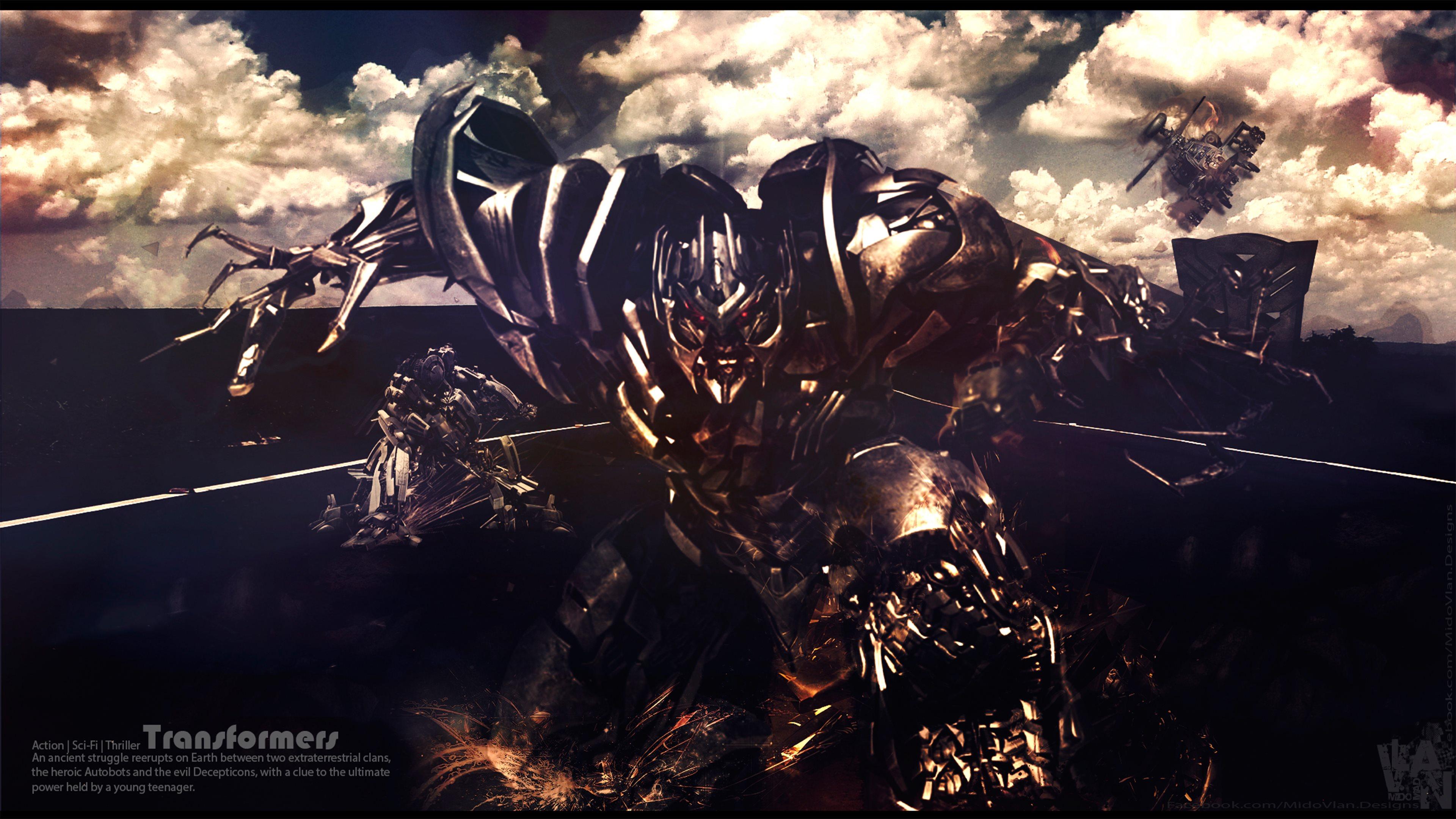 Wallpaper Fan Art 4k Pubattlegrounds: Transformers 4K Wallpaper