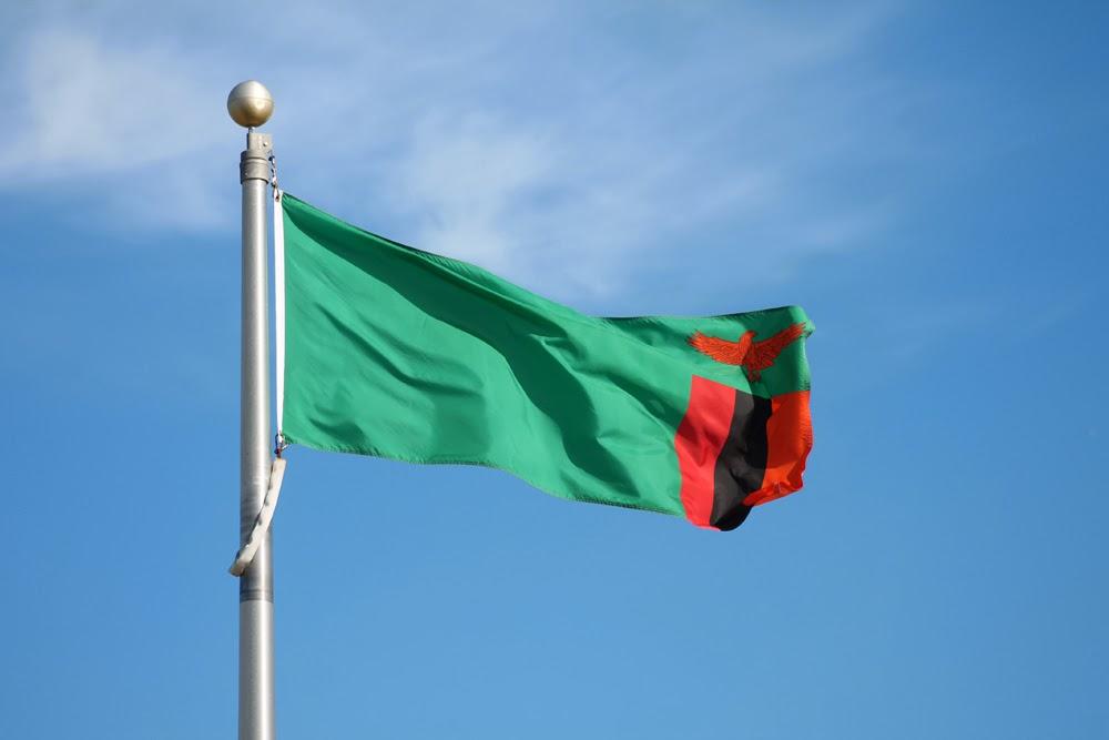 Graafix Flag of Zambia 1000x667